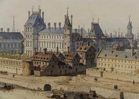 Palais du louvre guide palais du louvre paris histoire m di val - Date construction du louvre ...