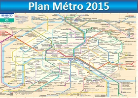 plan métro paris 2015